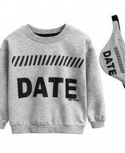 """Джемпер 27 """"Date"""" серый"""