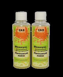 Растительный шампунь с фитоэстрогеном для сухих и окрашенных