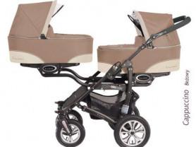 Коляска для двойни BabyActive Twinny 2 в 1 (Новая