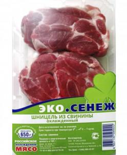 Шницель из Окорока 2,6 кг (4 лотка)