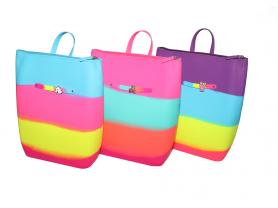 силиконовые рюкзачки, сумочки, браслетики, украшен