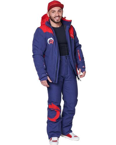 Мужской горнолыжный костюм, 2019-2020, арт.A-8819, Красный