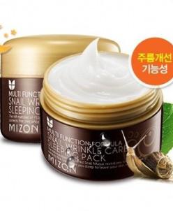 Ночная улиточная маска [Mizon] Snail Wrinkle Care Sleeping P