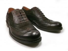 Туфли темный каштан