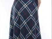 Новая юбка макси, стрейч, с поясом и карманами