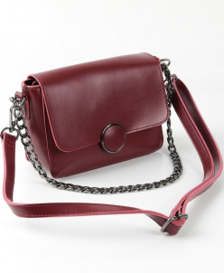 Женская кожаная сумка G-1158 Бордовый