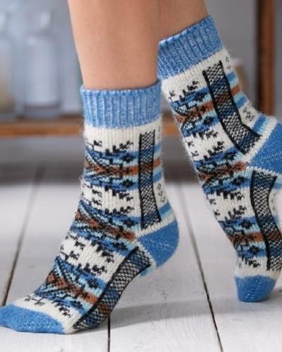 Носки шерстяные N6R191-1