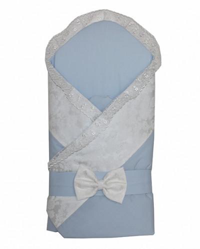 Конверт-одеяло Малыш Органза 70078.1 ECO Line Fabric голубой
