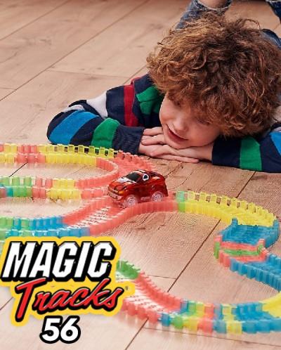 НЕ светящаяся Гоночная трасса Magic Tracks 56