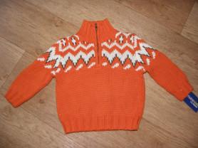 Новый хлопковый свитер (США) 12-24 мес