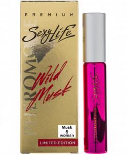 Sexy Life Wild Musk №5 woman Духи с феромонами (parfum) 10мл