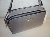 Новая серебристая сумочка кроссбоди Gaude Milano