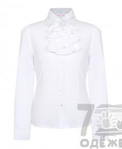 Блузка для девочки с длинным рукавом 128