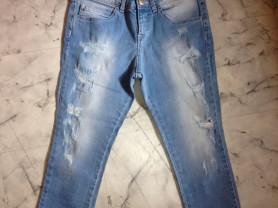 НОВЫЕ бриджи джинсовые Fun&Fun 11-12 л