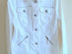 Белая джинсовая куртка YESSICA р.44-46