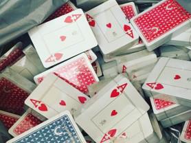 Покерные пластиковые карты