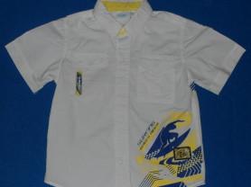 Рубашка с коротким рукавом, 110-116 см