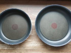 Tefal набор из 2х сковородок б/у