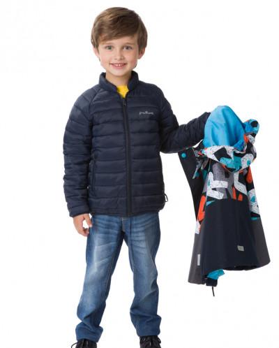 Демисезонная куртка утепленная: 2 в 1 PreMont для мальчика