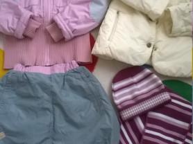 Пакет верхней одежды р. 134-140
