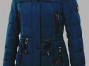Куртка парка пуховик зимняя 52-54 ОГ 118 см