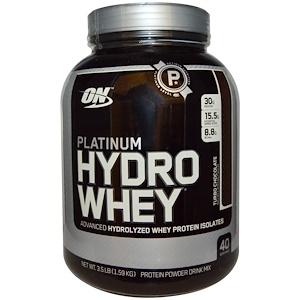 Optimum Nutrition, Platinum Hydro Whey (1.59кг) Chocolate