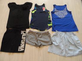 Новые и мало б/у фирм. шорты юбки туники футболки