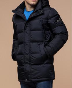 Куртка синего цвета теплая модель 44212