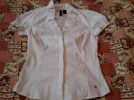 Красивая белая блузка Mango размер XL лучше на 48