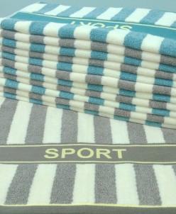 Полотенце махровое Спорт 45*90