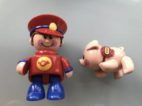 """Tolo toys """"Первые друзья"""" Почтальон и Поросенок"""