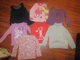 Пакет вещей на девочку р 86-92 (1,5-2 года)