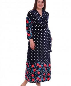 Халат женский Флоранс (3260). Расцветка: цветочные узоры