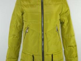 Новая салатовая демисезонная куртка, р.46.48
