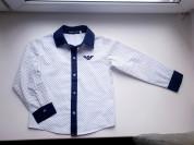 Стильная рубашка до 122 см
