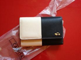 Новый фирменный кошелек из экокожи, привозной