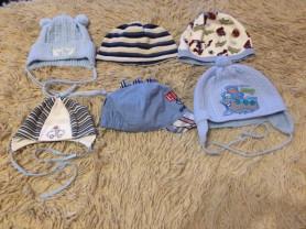 шапочки от 0 до 4 лет