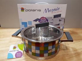 Кастрюля Polaris Mosaic с крышкой (3 л)
