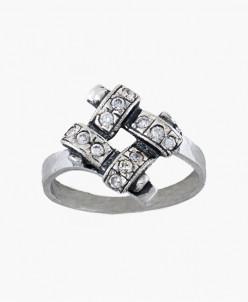 Кольцо из серебра Юность Юмила