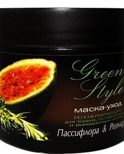 Liv Delano Green Style Регенерирующая маска-уход для тонких,