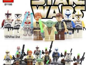 Минифигурки LEGO (Лего) Звёздные войны,Супергерои.