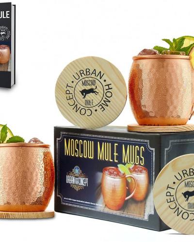Copper Mugs (set of 2) Moscow Mule Copper Mugs
