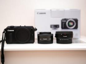 Фотоаппарат Canon eos M 22mm + адаптер EF-EOS M