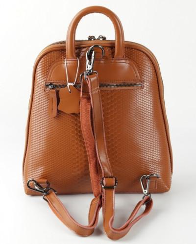 Женский кожаный рюкзак 0003-1 Натурал