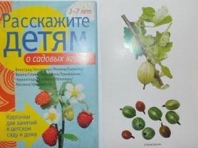Карточки овощи, фрукты, ягоды, деревья, птицы