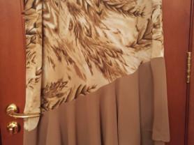 Летний юбочный костюм 50-52 размер