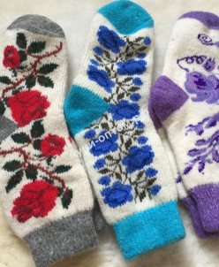 Носки женские из ангоры