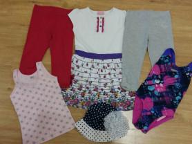 Платье, лосины,  майка, купальник и панама