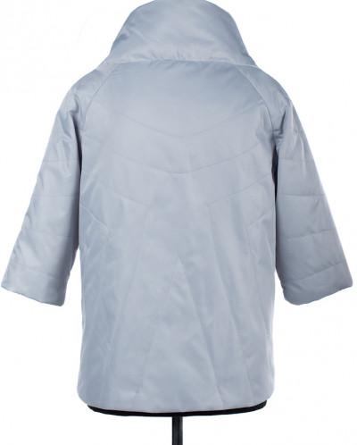 04-1742 Куртка демисезонная (Синтепон 50) Плащевка Светло-се