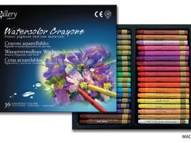Набор акварельной пастели Watercolor Crayons 36